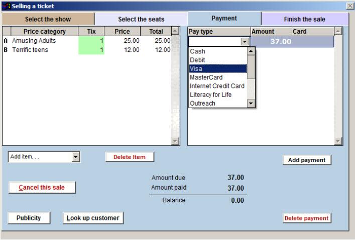 pay tab