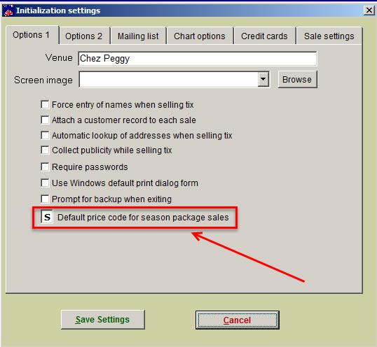 default price code