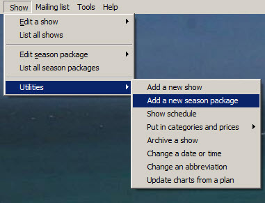 add season package