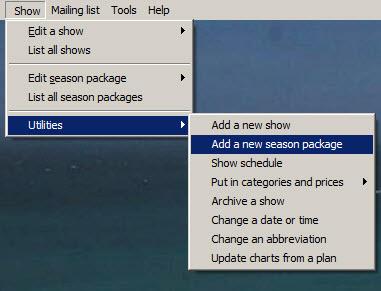 add season package