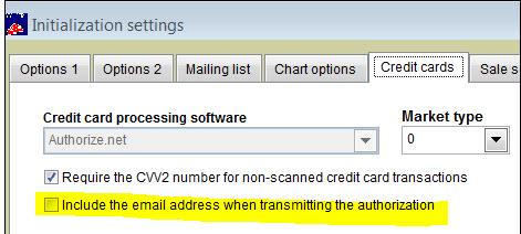 init settings