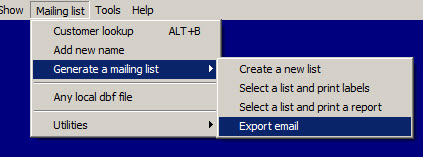 export email 5