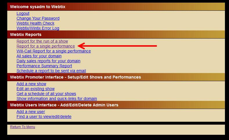 webtix report 4