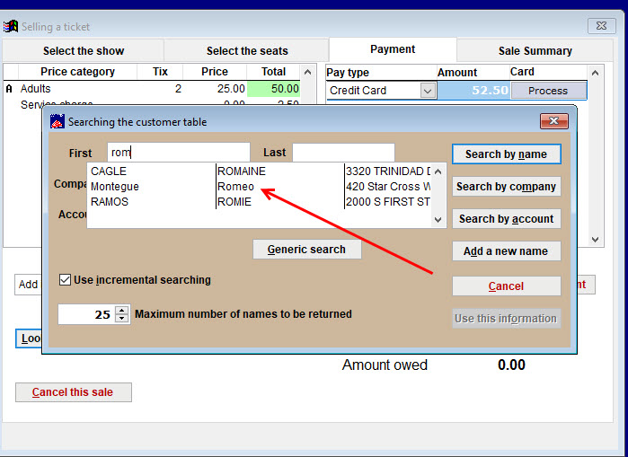 How to do a credit card charge where the billing address matches the